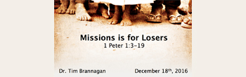 Missions Is For Losers